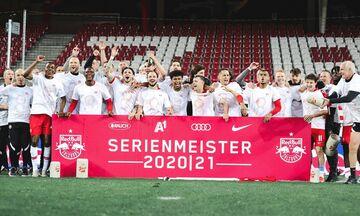 Αυστρία: Πρωταθλήτρια ξανά η Σάλτσμπουργκ!