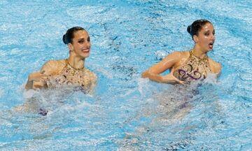Βουδαπέστη: «Χάλκινες» οι αδελφές Αλεξανδρή στο τεχνικό ντουέτο της καλλιτεχνικής κολύμβησης
