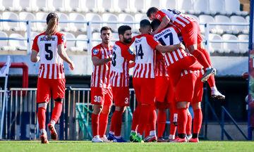Football League: Ο Ολυμπιακός Βόλου νίκησε (3-0) την ΑΕΠ Κοζάνης