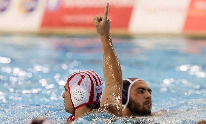 Μία «ανάσα» από το 35ο ο Ολυμπιακός, 11-9 την Βουλιαγμένη
