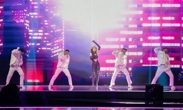 Eurovision 2021: Δυνατή και στην δεύτερη πρόβα η Stefania με το «Last Dance» (vid)