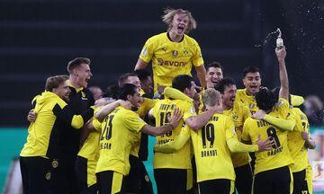 Η Ντόρτμουντ κυπελλούχος Γερμανίας, 4-1 τη Λειψία (vid)