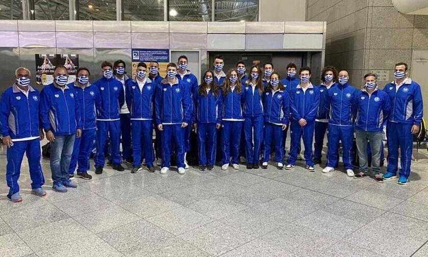 Ευρωπαϊκό Πρωτάθλημα Υγρού Στίβου: Έφυγε η αποστολή για Βουδαπέστη (pics)