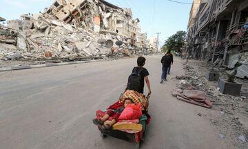 Συνεχίζεται ο βομβαρδισμός της Γάζας από το Ισραήλ - Περισσότεροι από 100 νεκροί Παλαιστίνιοι