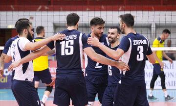Εθνική βόλεϊ Ανδρών: Πρόκριση με... περίπατο στο Ευρωβόλεϊ, 3-0 το Αζερμπαϊτζάν!