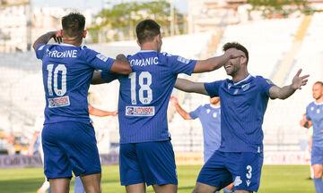 Απόλλων Σμύρνης - Λαμία 0-1: Ο Ρόμανιτς έκανε τη διαφορά (highlights)