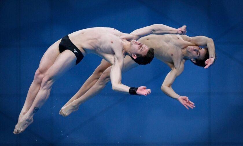 Συγχρονισμένες καταδύσεις: Έβδομοι οι Μόλβαλης - Τσιρίκος στα 10 μέτρα στο Ευρωπαϊκό Πρωτάθλημα