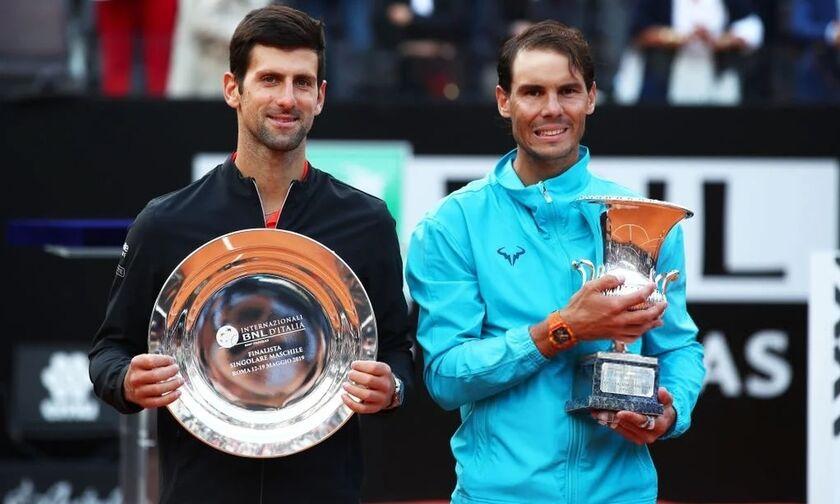 Italian Open: «Βασιλιάς» και στο χώμα της Ιταλίας ο Ναδάλ, 2-1 τον Τζόκοβιτς! (highlights)