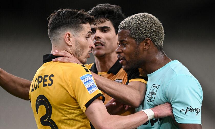 ΑΕΚ - Άρης 0-0: Η αψιμαχία Χιμένεθ - Μπερτόλιο και τα «γαλλικά» του Μάντζιου! (vid)