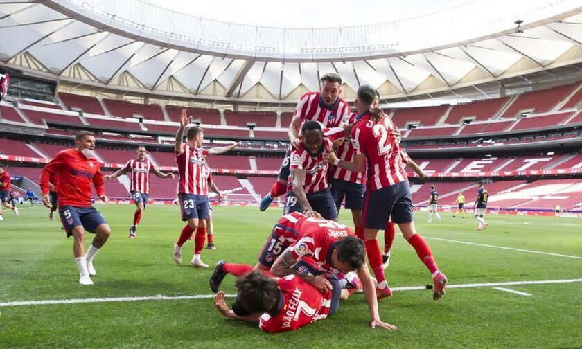 La Liga: Μ' ανατροπή και Σουάρες η Ατλέτικο (2-1) την Οσασούνα κι είναι ένα βήμα από τον τίτλο (hls)