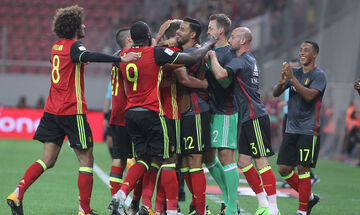 Euro: Γεμάτη με «αστέρια» η αποστολή του Βελγίου