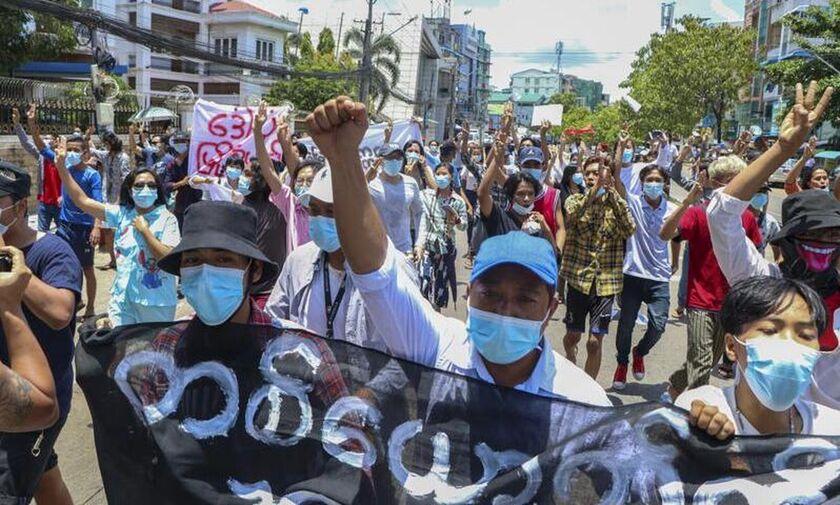 Μιανμάρ: Περισσότερα από 800 τα θύματα των δυνάμεων ασφαλείας