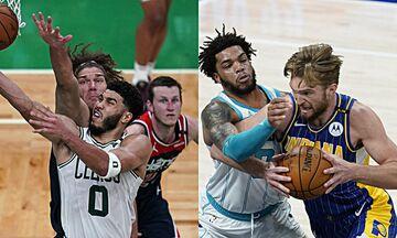 NBA: Ο Τέιτουμ έστειλε τους Σέλτικς στα Playoffs, οι Πέισερς διέλυσαν τους Χόρνετς (vids)