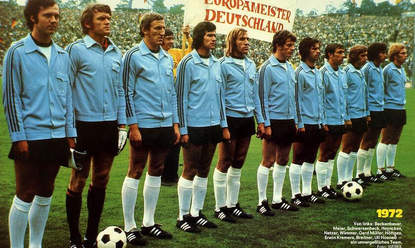 Euro 1972: Γερμανική «κατοχή» στο Βέλγιο