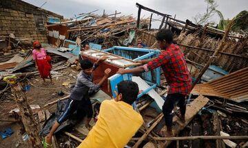 Ινδία: 33 νεκροί μετά από το πέρασμα του κυκλώνα Τοκάτε