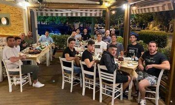 Απόλλων Σμύρνης: Ο Νίκος Δεληγιάννης έκανε το τραπέζι στους παίκτες του