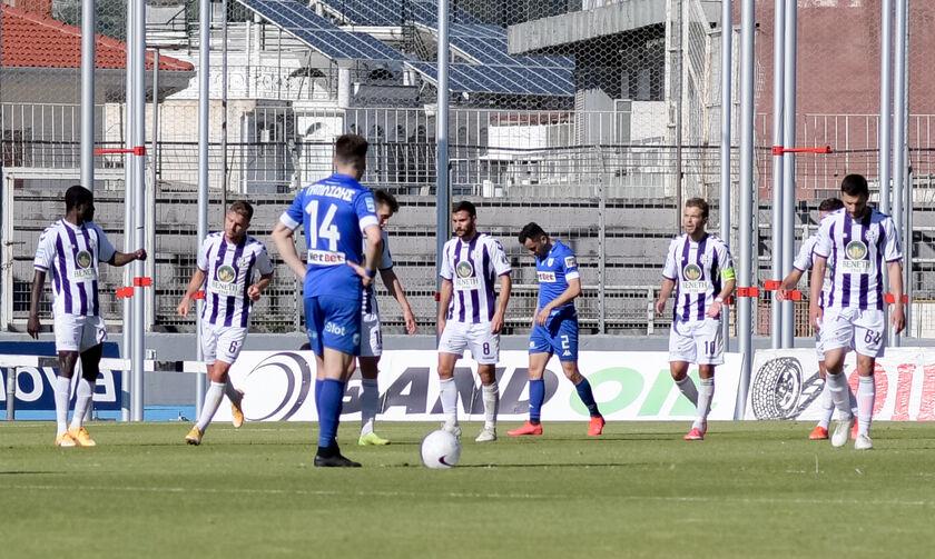 ΠΑΣ Γιάννινα - Απόλλων Σμύρνης 0-2: Φινάλε με νίκη για την «Ελαφρά Ταξιαρχία»