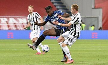 Τελικός Κυπέλλου Ιταλίας: Ισόπαλες 1-1 Αταλάντα και Γιουβέντους στο ημίχρονο (vid)