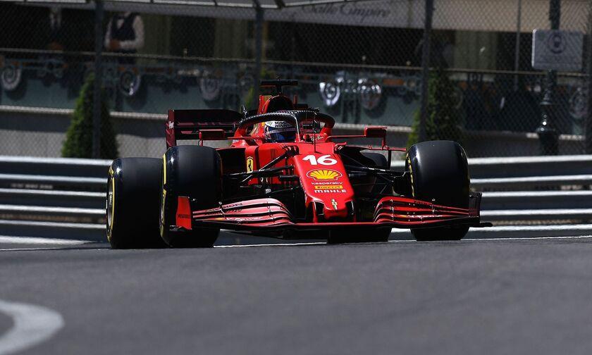 Grand Prix Μονακό: Έκανε το 1-2 η Ferrari στο FP2