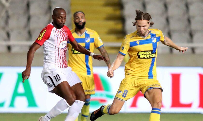ΑΠΟΕΛ - Νέα Σαλαμίνα 0-0: Βαθμό και ελπίζουν οι «ερυθρόλευκοι»