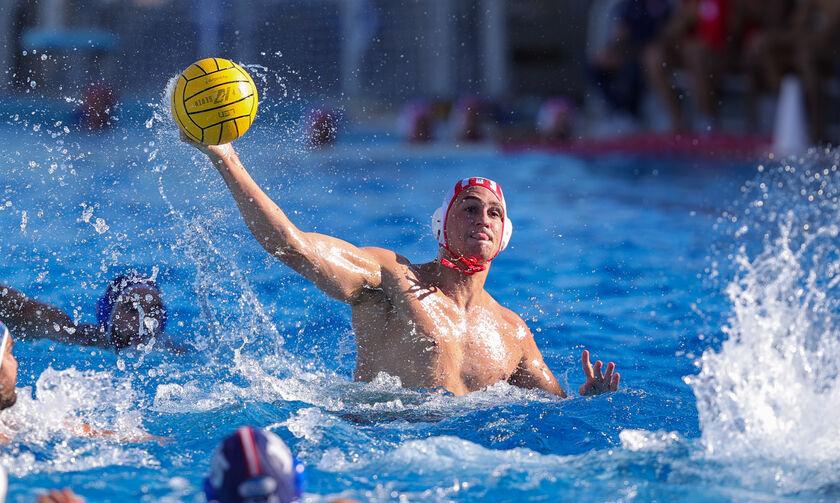 Ολυμπιακός – Υδραϊκός 18-9: Πέρασε στα ημιτελικά