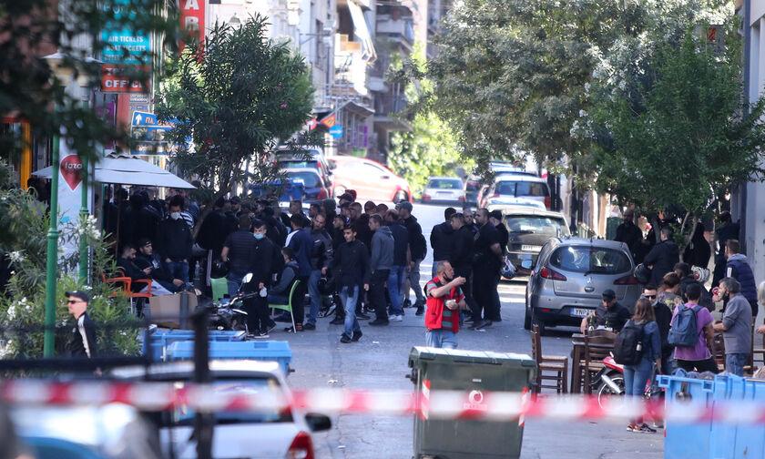 Οι οπαδοί του ΠΑΟΚ στην Αθήνα (pics)