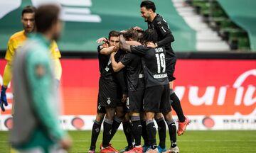 Bundesliga: Σώθηκε η Αρμίνια, υποβιβάστηκε η Βέρντερ, μπαράζ η Κολωνία (highlights)