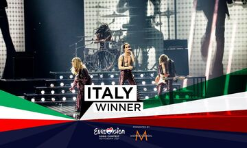Eurovision 2021: Επιτέλους νικήτρια η Ιταλία! Δεύτερη η Γαλλία, δέκατη η Ελλάδα (vids)