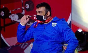 Άρση Βαρών σε πάγκο: Στο technical challenge έχασε το χρυσό μετάλλιο ο Μωϋσιάδης