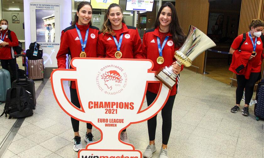 Οι πρωταθλήτριες Ευρώπης του Ολυμπιακού «Κολυμπούν για τη ζωή» (vid)