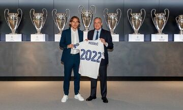 Επίσημο: Ανανέωσε ο Μόντριτς στη Ρεάλ Μαδρίτης