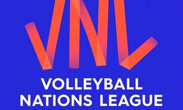 Τo Volleyball Nations League «καρφώνει» για ένα μήνα κάθε μέρα στο παρκέ του Novasports!