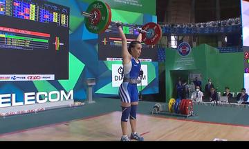 Άρση βαρών: Πανελλήνια ρεκόρ και από την Καρδαρά στο Παγκόσμιο Πρωτάθλημα της Τασκένδης