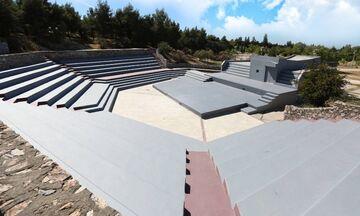 Ανακαινίστηκε το ανοιχτό θέατρο του Μητροπολιτικού Πάρκου «Αντώνης Τρίτσης» (pic)
