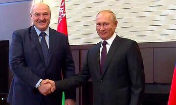 Συνάντηση Πούτιν - Λουκασένκο στο Σότσι