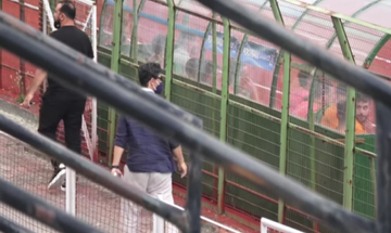 Αποδοκίμασαν τον Ρουβά σε αγώνα της Γ' Εθνικής