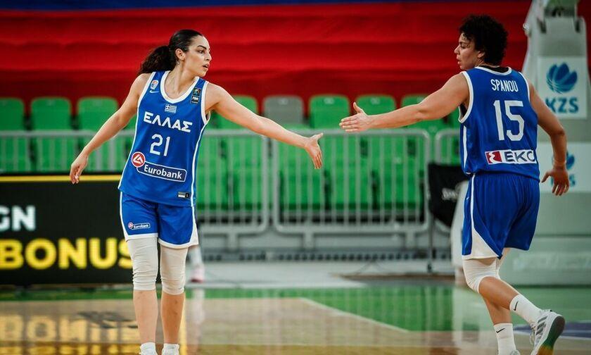 Ελλάδα - Ουγγαρία 73-70: Με το δεξί στα φιλικά η Εθνική γυναικών