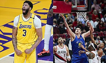 NBA Playoffs: 2-1 οι Λέικερς με σούπερ Ντέιβις, break στο Πόρτλαντ οι Νάγκετς! (vids)