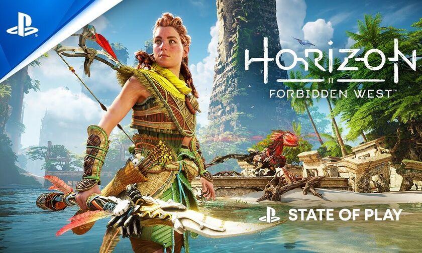 Horizon Forbidden West: Εντυπωσίασε το νέο gameplay στο State of Mind! (vid)