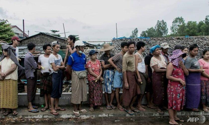 Μιανμάρ: Εκατοντάδες χιλιάδες ζουν μέσα στη φτώχεια και κινδυνεύουν από τον λιμό