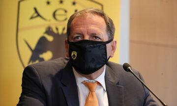 Αγγελόπουλος: «Αναλαμβάνω την ευθύνη, θα μιλήσω στον κόσμο της ΑΕΚ»