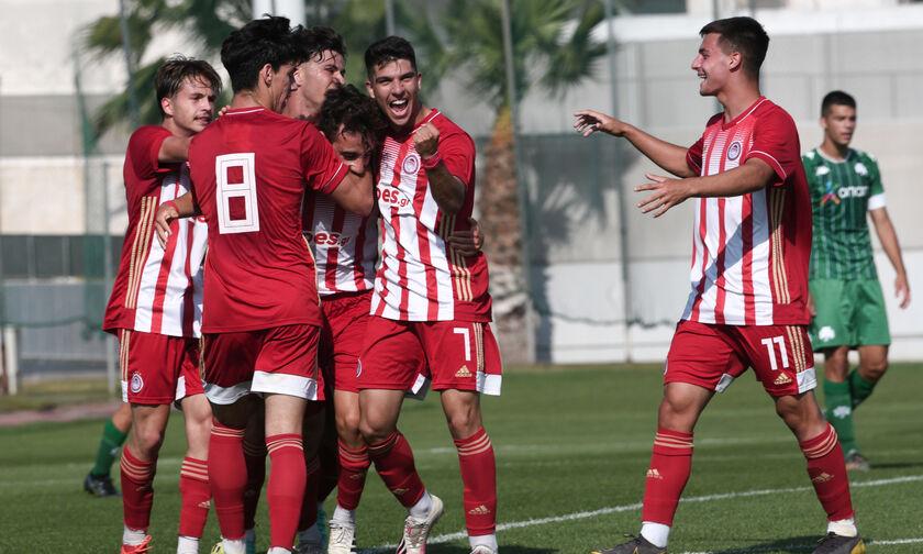 Super League K19: Ολυμπιακός - Παναθηναϊκός 2-0: Βάφτηκε «ερυθρόλευκο» το ντέρμπι (highlights)