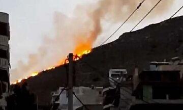 Φωτιά στο Σχιστό - Δεν απειλούνται σπίτια