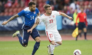 Ελβετία - ΗΠΑ 2-1: Φιλική νίκη πριν το Euro!