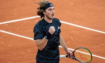 Roland Garros: Ο Τσιτσιπάς πήρε... παραμάζωμα τον Σαρντί!