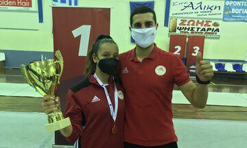 Ξιφασκία: Πρωταθλήτρια Ελλάδας στις Νεάνιδες η Γαζεπίδη του Ολυμπιακού