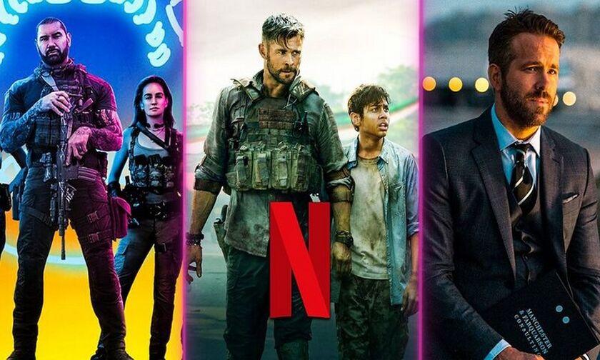 Netflix: Αυτές είναι 10 ταινίες του με τις περισσότερες προβολές