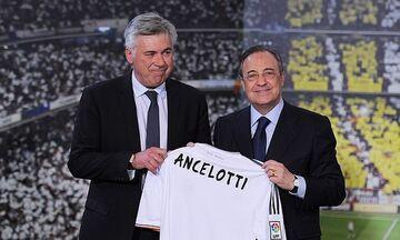 Ο Αντσελότι στον πάγκο της Ρεάλ Μαδρίτης