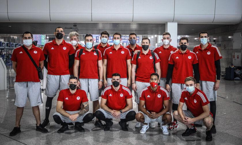 Ολυμπιακός: Αναχώρησε για Βελιγράδι η ομάδα πόλο (pics)