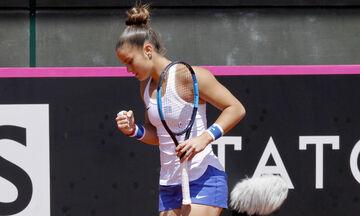 Roland Garros: Το μεσημέρι του Σαββάτου (5/6) θα παίξει με τη Μέρτενς η Σάκκαρη